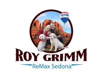 Roy Grimm ReMax Sedona  logo design winner