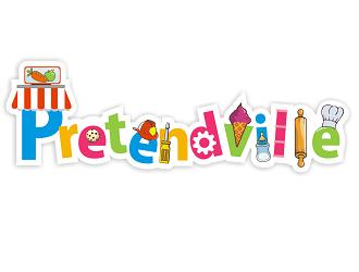 Pretendville logo design