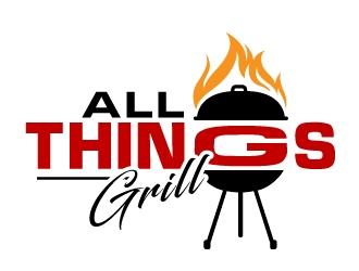www.allthingsgrill.com logo design