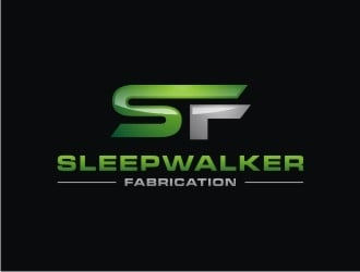 Sleepwalker Fabrication logo design
