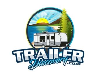 Trailerdiscovery.com logo design