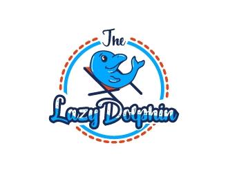 The Lazy Dolphin logo design