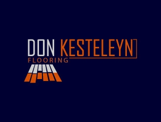 Don Kesteleyn Flooring logo design
