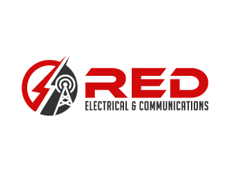Red Electrical & Communications logo design winner