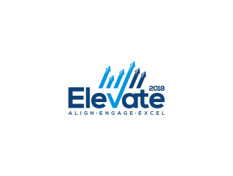 Elevate 2018 logo design