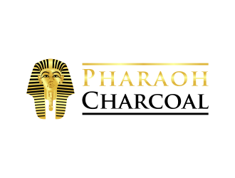 Pharaoh Charcoal logo design winner