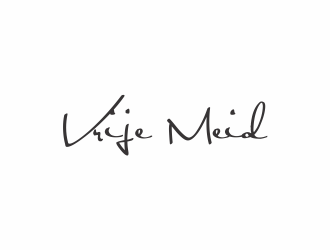 Vrije Meid logo design by eagerly