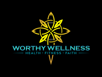 Worthy Wellness logo design