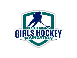 Prarie Region Girls Hockey Foundation logo design