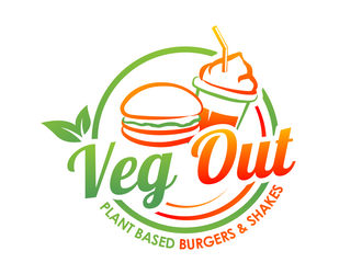 Veg Out  logo design winner