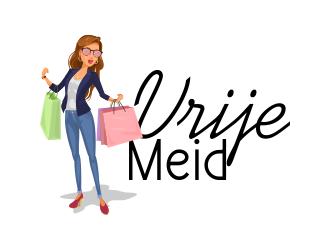Vrije Meid logo design by ROSHTEIN