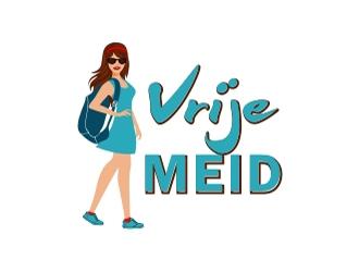 Vrije Meid logo design by aladi