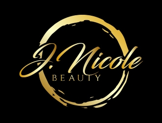 J.Nicole Beauty  logo design
