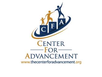 Center for Advancement logo design