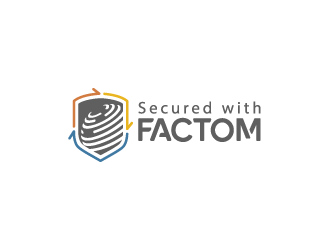 Factom logo design