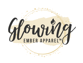 Glowing Ember Apparel™ logo design