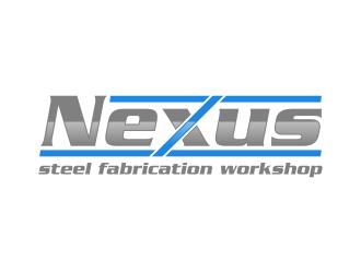 Nexus steel fabrication workshop logo design