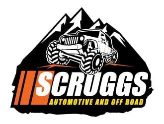 Scruggs Automotive logo design