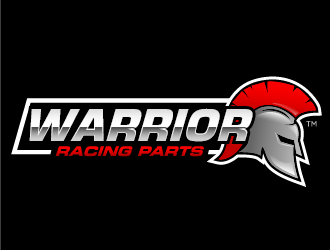 warrior racing parts logo design