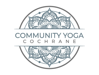 Community Yoga Cochrane  logo design