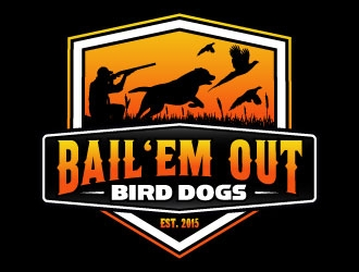 Bail 'Em Out Bird Dogs logo design