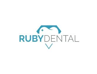 Ruby Dental logo design