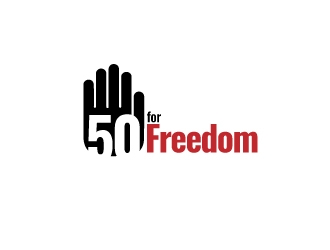 50 for Freedom logo design by jhanxtc