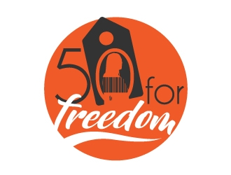 50 for Freedom logo design by zenith