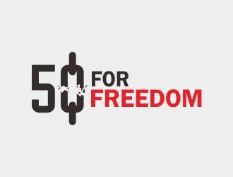 50 for Freedom logo design by ian69