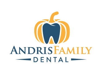 Andris Family Dental logo design
