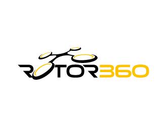 Rotor 360 logo design