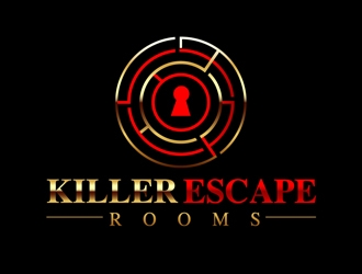Killer Escape Rooms logo design