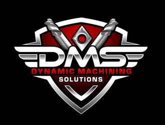 Dynamic Machining Solutions logo design