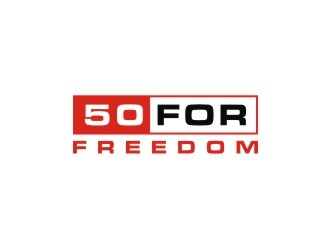50 for Freedom logo design by Franky.