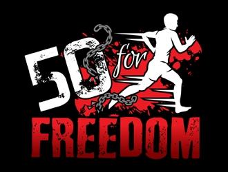 50 for Freedom logo design by MAXR