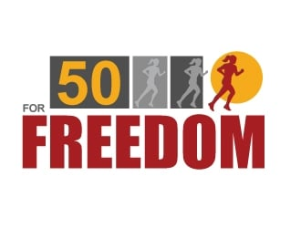 50 for Freedom logo design by cookman