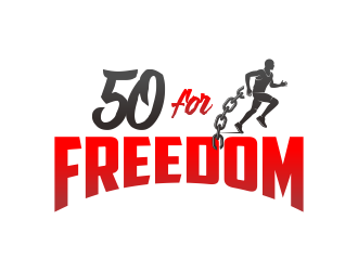 50 for Freedom logo design by Ibrahim
