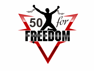 50 for Freedom logo design by bosbejo