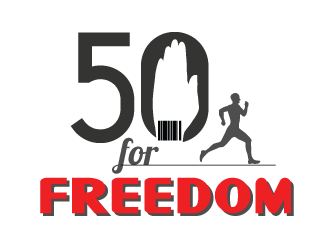50 for Freedom logo design by mppal