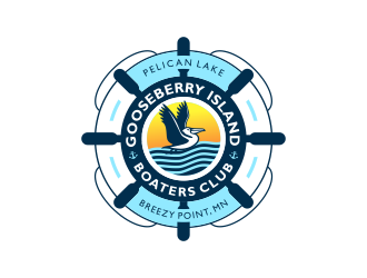 Gooseberry Island Boaters Club  logo design