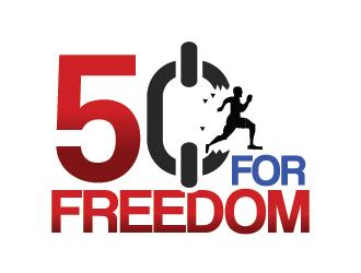 50 for Freedom logo design by czars