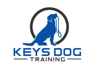 Keys Dog Training logo design