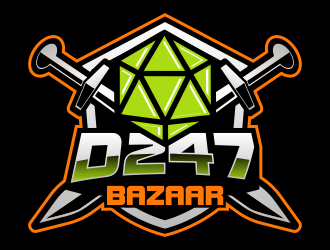 D247 Gaming logo design