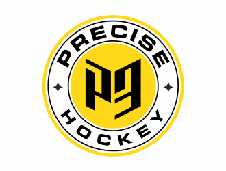 P3 Sports - Precise Hockey logo design