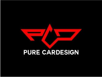 PCD / Pure CarDesign  logo design