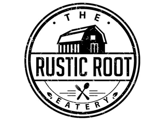 The Rustic Root Eatery logo design