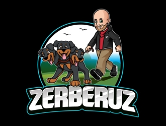 Zerberuz logo design