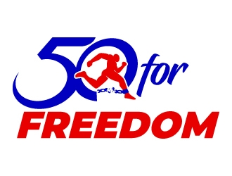 50 for Freedom logo design by jaize