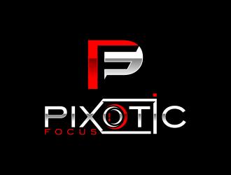 Pixotic Focus logo design