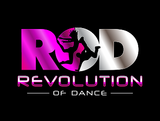 Revolution of Dance (RoD) logo design